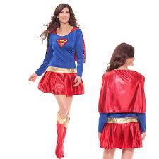 Supergirl Halloween Costumes Woman Halloween Costume Women Superhero