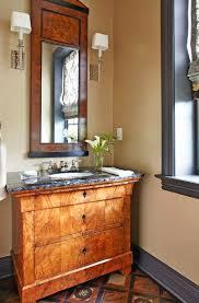 create a smashing powder room traditional home