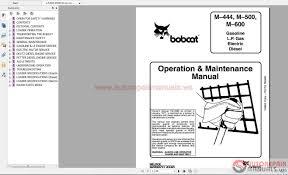 bobcat operator manuals full set dvd auto repair manual forum