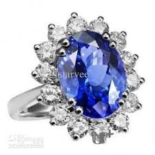 ring diana princess diana sapphire ring kate middleton 925 sterling silver