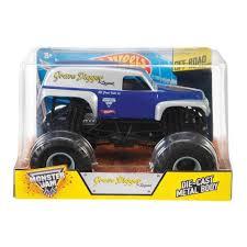 wheel monster jam trucks wheels monster jam 1 24 grave digger the legend toyworld