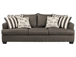 Sofa Beds With Mattress by Signature Design By Ashley Levon Charcoal Queen Sofa Sleeper