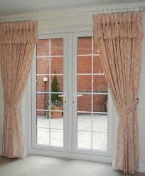 home design curtains door window treatment ideas u drapes patio