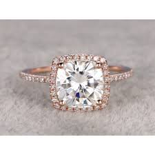 engagement rings 2000 big 2ctw moissanite and engagement ring 14k gold