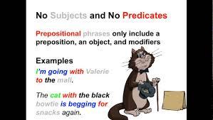 prepositional phrases parts of speech app youtube