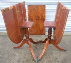 Yew Dining Table And Chairs Regency Style Yew Dining Table To Seat Eight