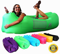 wekapo inflatable lounger air sofa hammock portable water proof u0026