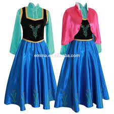 Anna Frozen Costume Frozen Costume Princess Anna Fancy Dress Gown Snow Queen Bwg