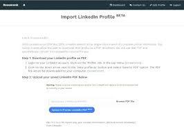 Linkedin Resume Creator Best Resume Builder Linkedin Tips In Writing A Example Down Online