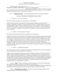 Free Power Of Attorney Form Pdf by Free Vermont Real Estate Power Of Attorney Form Pdf Eforms