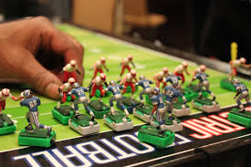 table top football games electric football wikipedia