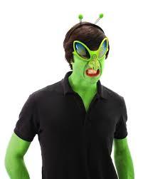 alien halloween costume alien glasses with nose costume accessory walmart com