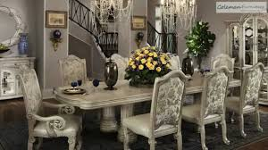 monte carlo ii silver pearl dining room collection from aico