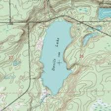 topo maps wisconsin devils lake sawyer county wisconsin lake couderay usgs