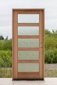 Shaker Style Exterior Doors Shaker Exterior Door With Glass