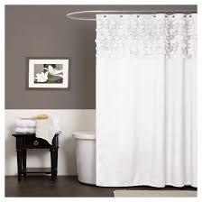 Shower Curtain See Through Lillian Circle Ruffle Shower Curtain Target