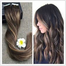 balayage hair extensions ombre balayage in skin weft remy human hair extensions