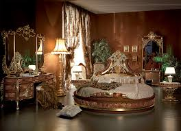 italian bed room in round shapetop and best italian classic furniture