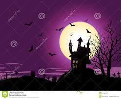 halloween background purple cartoon halloween background royalty free stock photography