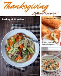 thanksgiving leftover recipes eat the