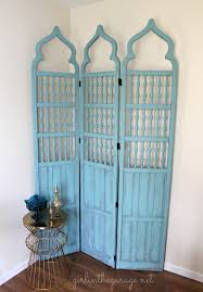 Vintage Room Divider Makeover For A Vintage Room Divider Latta Creations