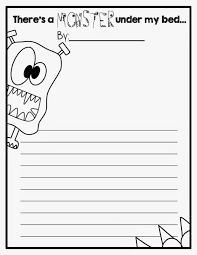 free writing paper for first grade writing activity to go with i need my monster teacher ideas writing activity to go with i need my monster