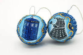 two ready to ship doctor who ornaments by hontor on deviantart