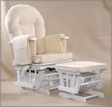 White Glider Rocker White Glider Rockers For Nursery Chairs Home Decorating Ideas