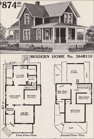 farm house plans modern home 264b110 farmhouse style 1916 sears house plans