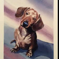 bluetick coonhound reviews bluetick coonhound art print signed by artist dj rogers