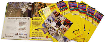 mf design graphic design and production of mf hire product catalogue