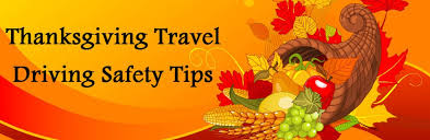 driving safety tips for thanksgiving travel