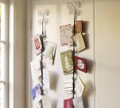 christmas card display holder simple card display ideas the shopping mamathe