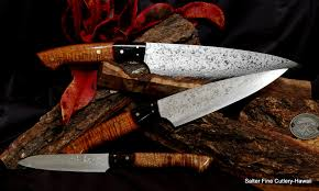hand forged japanese kitchen knives 3 piece chef knife set hand forged in japan of vg10 damascus
