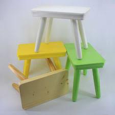 kids step stool wooden children toddler boy seat chair