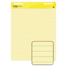 self stick paper post it self stick easel pads white 30 sheets per pad target