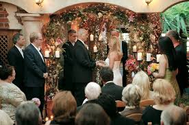 vibrant wedding at romantic beverly hills restaurant il cielo