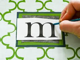 monogrammed tray how to make a monogrammed tray hgtv