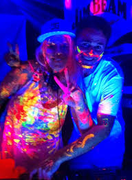 glow paint party times had by all at jodie s 2014 nye glow paint party