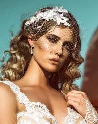 wedding headpieces bridal headpiece lace and diamonte chains harlow deluxe by