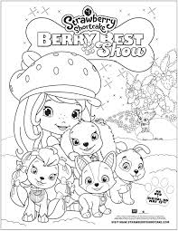 strawberry shortcake berry best in show free printable