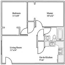Bathroom Floor Plans Floor Plans Of Garden Plaza Apartments In Sierra Vista Az
