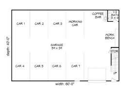 8 car garage garage plans with loft 8 car garage loft plan 062g 0037 at