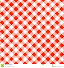 seamless pattern of a white plaid tablecloth stock vector