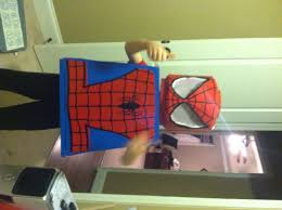 halloween spiderman costume diy lego spiderman costume honeysuckle footprints