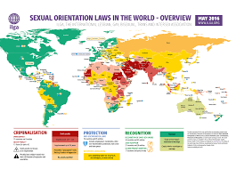 El Salvador On World Map by Sexual Orientation Laws In The World May 2016 History