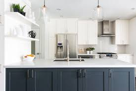 white kitchen cabinets with blue island marvelous 25 white kitchen navy island ideas https