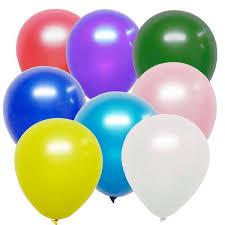 metallic balloons helium balloons