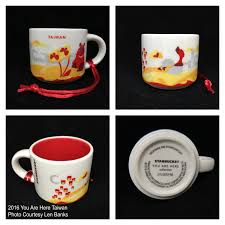 2016 you are here taiwan starbucks ornament starbucks ornament