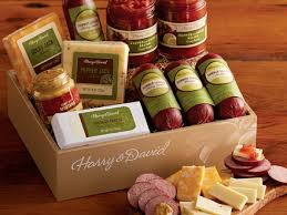 Meat And Cheese Gift Baskets 37 Meat Gift Boxes Ikat Dots Food Gift Boxes The Container Store